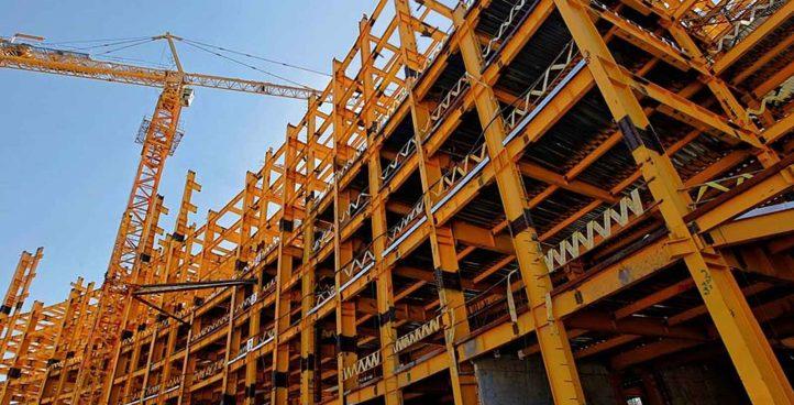 Building metal skeletons