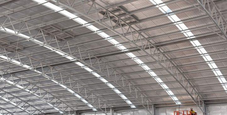سازه های انواع سالنهای صنعتی